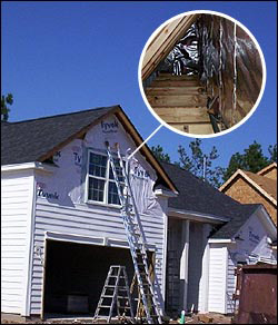 Alternative Construction Concepts - Eugene Oregon Attic Radiant Barrier